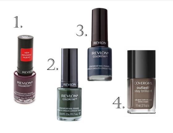 Fall Nailpolishes